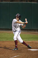 25 October 2007: Stanford Cardinal Anna Beardman during Stanford's 5-4 loss in seven innings against the San Jose State Spartans at Boyd & Jill Smith Family Stadium in Stanford, CA.