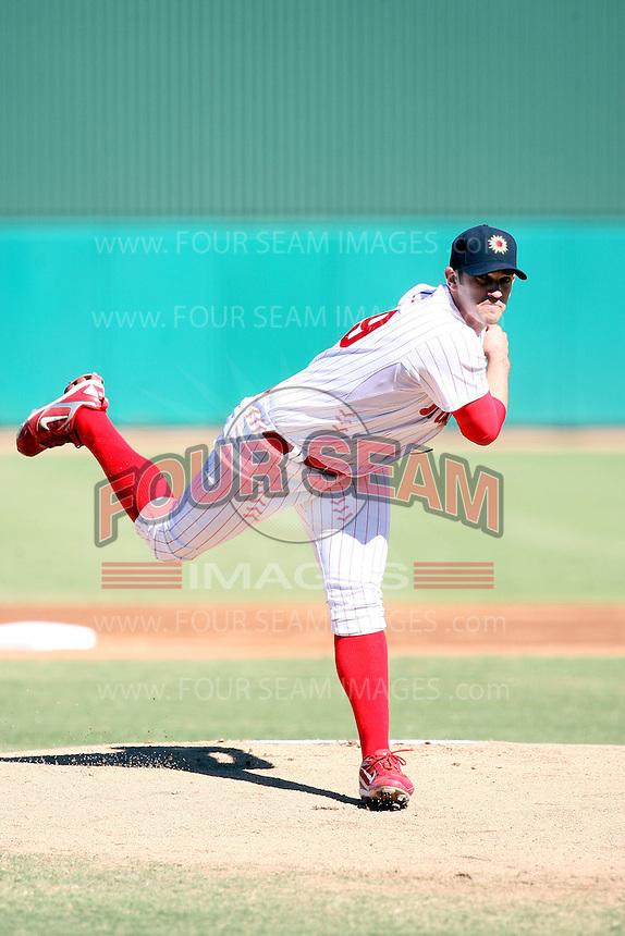Josh Zeid - Mesa Solar Sox - 2010 Arizona Fall League.Photo by:  Bill Mitchell/Four Seam Images..