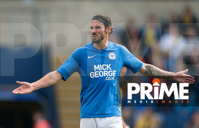 George Boyd of Peterborough United during the Sky Bet League 1 match between Oxford United and Peterborough at the Kassam Stadium, Oxford, England on 10 August 2019. Photo by Andy Rowland.