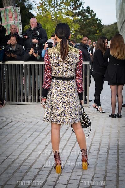 Tina Leung attend Louis Vuitton Show Front Row - Paris Fashion Week  2016.<br /> October 7, 2015 Paris, France<br /> Picture: Kristina Afanasyeva / Featureflash