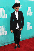 Janelle Monae at the 2012 MTV Movie Awards held at Gibson Amphitheatre on June 3, 2012 in Universal City, California. ©mpi29/MediaPunch Inc.