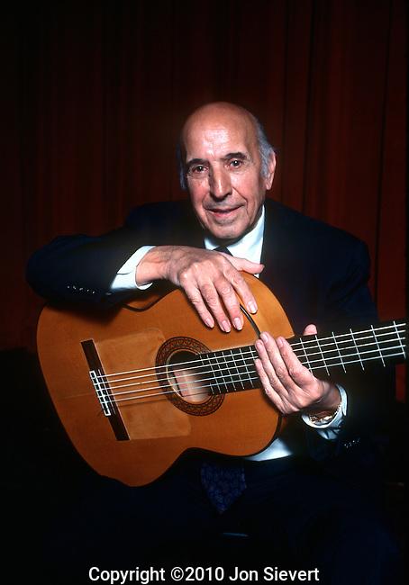 Carlos Montoya, March 1977
