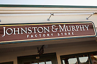 Johnston and Murphy Factory Store is pictured in Tanger Outlets in Sevierville,  Tennessee Thursday March 20, 2014.