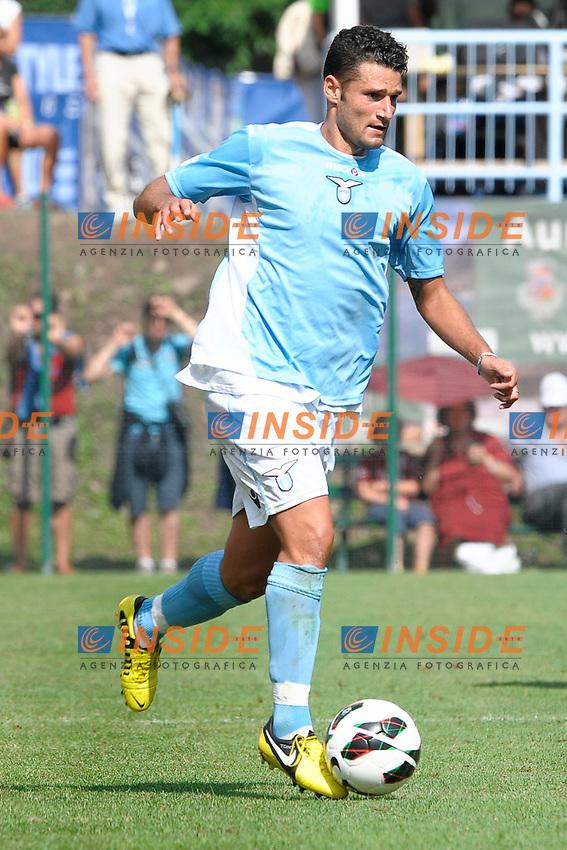 Antonio Candreva Lazio.Auronzo di Cadore 26/7/2012.Football Calcio 2012 / 2013 .Amichevole Friendly Match.SS Lazio Vs FC Torino.Foto Insidefoto