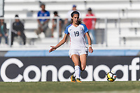 Bradenton, FL - Sunday, June 10, 2018: Michela Agresti during a U-17 Women's Championship match between the United States and Haiti at IMG Academy.  USA defeated Haiti 3-2 to advance to the finals.