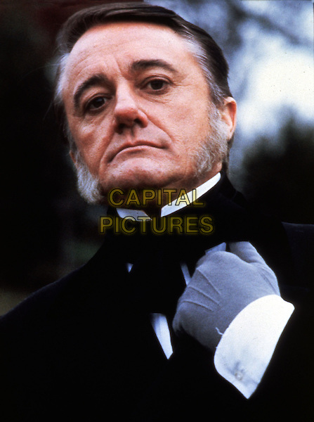 ROBERT VAUGHN.* Editorial Use Only*.headshot portrait sideburns side burns glove grey gray black facial hair.CAP/STF/KHE.Supplied by Capital Pictures.