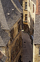 Europe/France/Aquitaine/24/Dordogne/Vallée de la Dordogne/Périgord/Périgord Noir/Sarlat-la-Canéda: L'hôtel Plamon