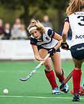 HUIZEN  -    , hoofdklasse competitiewedstrijd hockey dames, Huizen-Groningen (1-1)   COPYRIGHT  KOEN SUYK