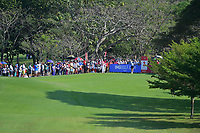 PATTAYA, THAILAND - FEBRUARY 22: Amy Olson of USA on the 2nd tee during the second round of the Honda LPGA Thailand 2019 at Siam Country Club Pattaya (Old Course), Pattaya, Thailand on February 22, 2019.<br /> .<br /> .<br /> .<br /> (Photo by: Naratip Golf Srisupab/SEALs Sports Images)<br /> .<br /> Any image use must include a mandatory credit line adjacent to the content which should read: Naratip Golf Srisupab/SEALs Sports Images