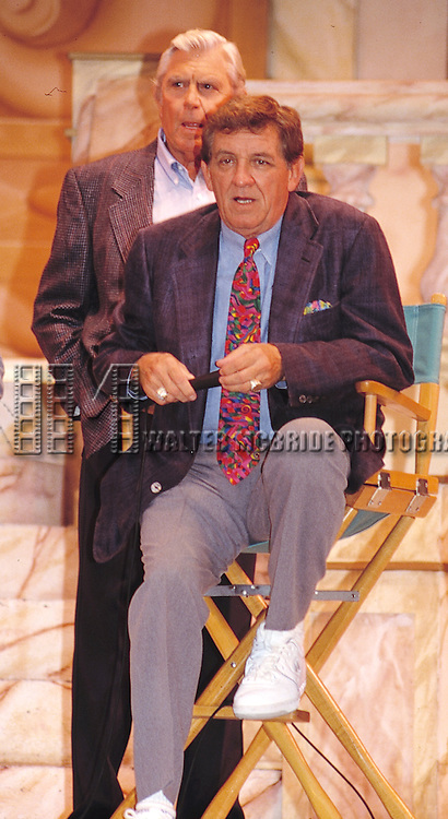 Andy Griffith & George Lindsey attending an ANDY GRIFFITH SHOW Reunion at the Disney MGM Studios, Walt Disney World Theme Park in Orlando, Florida. August 11, 1992