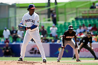 7 March 2009: #45 Pedro Martinez of The Dominican Republic pitches against The Netherlands during the 2009 World Baseball Classic Pool D match at Hiram Bithorn Stadium in San Juan, Puerto Rico. Netherlands pulled off a huge upset in their World Baseball Classic opener with a 3-2 victory over Dominican Republic.