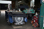 Restoring classic vintage cars, Fisher's  garage, Walberswick, Suffolk, England
