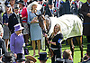 """QUEEN WINS QUEEN'S VASE AT ROYAL ASCOT..The Queen wasa winner with her horse Estimate in the second last race of the day..The trophy was presented to her by Prince Philip, Day 4 Royal Ascot, Ascot_22/06/2012.Mandatory Credit Photo: ©Dias/NEWSPIX INTERNATIONAL..**ALL FEES PAYABLE TO: """"NEWSPIX INTERNATIONAL""""**..IMMEDIATE CONFIRMATION OF USAGE REQUIRED:.Newspix International, 31 Chinnery Hill, Bishop's Stortford, ENGLAND CM23 3PS.Tel:+441279 324672  ; Fax: +441279656877.Mobile:  07775681153.e-mail: info@newspixinternational.co.uk"""