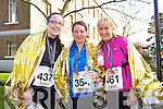 Fiona Griffin, Noreen Denihan and Marie O'Donnell at the Valentines 10 mile road race in Tralee on Saturday.