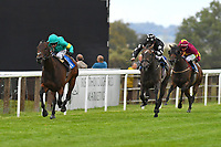 Winner of The European Bloodstock News EBF 'Lochsong' Fillies' HandicapPoety Vanity ridden by Oisin Murphy and trained by Andrew Balding during the Bathwick Tyres & EBF Race Day at Salisbury Racecourse on 6th September 2018