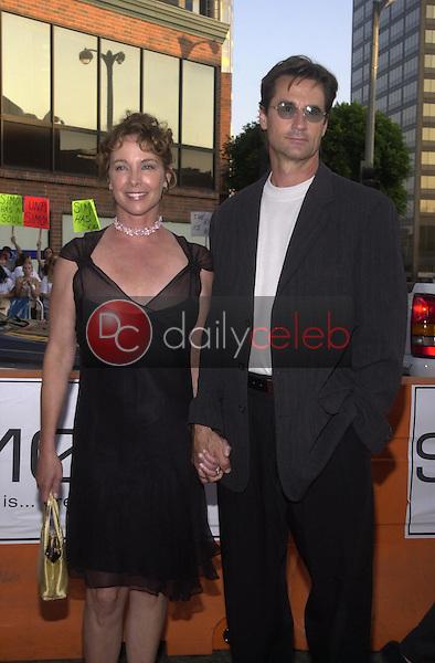 Kathleen Quinlan and Husband