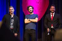 Manou Lubowski, Toby Sebastian und Craig Parker auf der MagicCon 3 im Maritim Hotel. Bonn, 26.04.2019