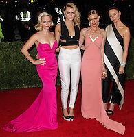 "NEW YORK CITY, NY, USA - MAY 05: Reese Witherspoon, Cara Delevingne, Kate Bosworth, Stella McCartney at the ""Charles James: Beyond Fashion"" Costume Institute Gala held at the Metropolitan Museum of Art on May 5, 2014 in New York City, New York, United States. (Photo by Xavier Collin/Celebrity Monitor)"