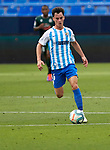 Juanpi Anor (Malaga CF) controls the ball during La Liga Smartbank match round 39 between Malaga CF and RC Deportivo de la Coruna at La Rosaleda Stadium in Malaga, Spain, as the season resumed following a three-month absence due to the novel coronavirus COVID-19 pandemic. Jul 03, 2020. (ALTERPHOTOS/Manu R.B.)
