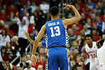 Kentucky Wildcats guard Jemarl Baker (13) celebrated a basket during their game at the KFC Yum Center on Saturday Dec. 29, 2018 in Louisville, Ky.