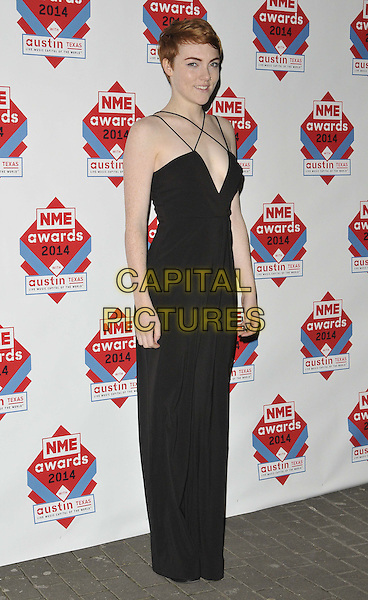 LONDON, ENGLAND - FEBRUARY 26: Chloe Howl attends the NME Awards 2014, O2 Academy Brixton, Stockwell Rd., on Wednesday February 26, 2014 in London, England, UK.<br /> CAP/CAN<br /> &copy;Can Nguyen/Capital Pictures