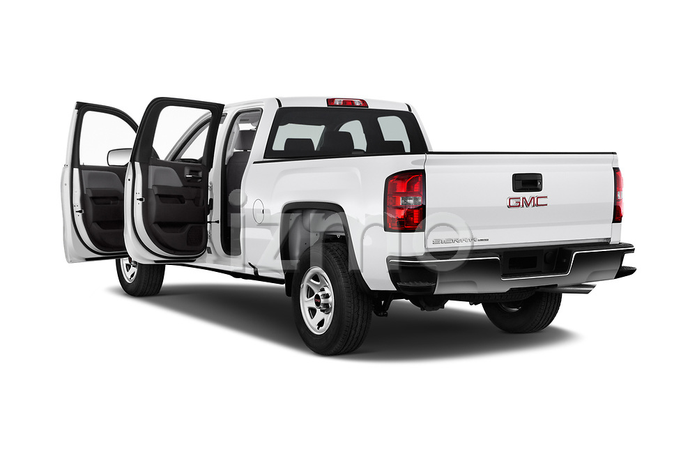 Car images close up view of a 2019 GMC Sierra 1500 Limited Base 4 Door Pick Up doors