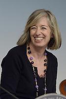 Roma, 28 Febbraio 2014<br /> La Ministra dell'istruzione Stefania Giannini al termine del  Consiglio dei Ministri.