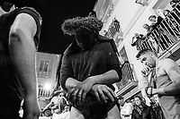 Unknown, Religious flagellant. <br /> <br /> Rome, 01/05/2019. This year I will not go to a MayDay Parade, I will not photograph Red flags, trade unionists, activists, thousands of members of the public marching, celebrating, chanting, fighting, marking the International Worker's Day. This year, I decided to show some of the Workers I had the chance to meet and document while at Work. This Story is dedicated to all the people who work, to all the People who are struggling to find a job, to the underpaid, to the exploited, and to the people who work in slave conditions, another way is really possible, and it is not the usual meaningless slogan: MAKE MAYDAY EVERYDAY!<br /> <br /> Happy International Workers Day, long live MayDay!