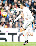 Real Madrid's Cristiano Ronaldo during La Liga match. February 13,2016. (ALTERPHOTOS/Acero)