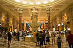 A shopping mall in Las Vegas, Nevada, NV, Las Vegas, city, statue in the atrium of the Forum Shopping Mall, Caesars Palace and Casino, Photo nv284-17175..Copyright: Lee Foster, www.fostertravel.com, 510-549-2202,lee@fostertravel.com
