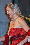 """CROWN PRINCESS MAXIMA.attends the gala farewell dinner for Queen Beatrix at the Rijksmuseum in Amsterdam, The Netherlands_April 29, 2013..Crown Prince Willem-Alexander and Crown Princess Maxima will be proclaimed King and Queen  of The Netherlands on the abdication of Queen Beatrix on 30th April 2013..Mandatory Credit Photos: ©NEWSPIX INTERNATIONAL..**ALL FEES PAYABLE TO: """"NEWSPIX INTERNATIONAL""""**..PHOTO CREDIT MANDATORY!!: NEWSPIX INTERNATIONAL(Failure to credit will incur a surcharge of 100% of reproduction fees)..IMMEDIATE CONFIRMATION OF USAGE REQUIRED:.Newspix International, 31 Chinnery Hill, Bishop's Stortford, ENGLAND CM23 3PS.Tel:+441279 324672  ; Fax: +441279656877.Mobile:  0777568 1153.e-mail: info@newspixinternational.co.uk"""