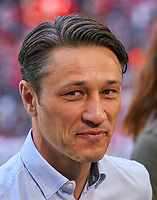 Niko KOVAC, Trainer FRA    smiles, laechelt, lachend, smile, froh, happy ,Freude, positiv, freundlich, <br /> FC BAYERN MUENCHEN - EINTRACHT FRANKFURT 4-1<br /> Football 1. Bundesliga , Muenchen,28.04.2018, 32. match day,  2017/2018, , FRA<br />  *** Local Caption *** © pixathlon<br /> Contact: +49-40-22 63 02 60 , info@pixathlon.de