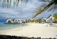 Le Touessrok Hotel resort complex in Mauritius