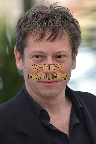 Mathieu Amalric.'La Venus A La Fourrure'  photocall at the 66th Cannes Film Festival, France 23rd May 2013.headshot portrait black shirt jacket .CAP/PL.©Phil Loftus/Capital Pictures.
