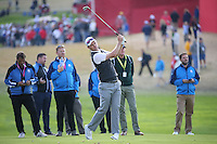 Justin Rose (Team Europe) in action during Thursday's Practice Round ahead of The 2016 Ryder Cup, at Hazeltine National Golf Club, Minnesota, USA.  29/09/2016. Picture: David Lloyd | Golffile.