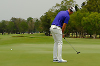 Anthony Quayle (AUS) on the 3rd green during round 4 of the Australian PGA Championship at  RACV Royal Pines Resort, Gold Coast, Queensland, Australia. 22/12/2019.<br /> Picture TJ Caffrey / Golffile.ie<br /> <br /> All photo usage must carry mandatory copyright credit (© Golffile   TJ Caffrey)