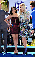 Actresses Ariel Winter &amp; Meghan Trainor at the world premiere for &quot;Smurfs: The Lost Village&quot; at the Arclight Theatre, Culver City, USA 01 April  2017<br /> Picture: Paul Smith/Featureflash/SilverHub 0208 004 5359 sales@silverhubmedia.com