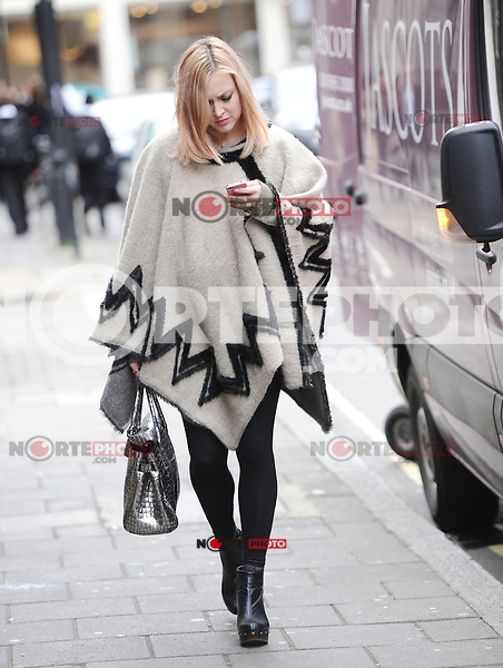November 13rd, 2012 - London..Fearne Cotton  seen leaving RadioOone studios .(kdena/nortePhoto)