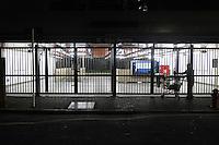 SAO PAULO, SP, 05-06-2014, GREVE METRO. Os metroviarios entraram em greve  a partir da zero hora dessa quinta-feira (5), na foto a estação São Bento do Metro.          Luiz Guarnieri/ Brazil Photo Press.