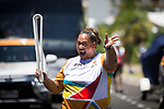 Batonbearer Browning Ave carrying the Baton as the Queen's Baton Relay visited Cairns. In the host state of Queensland the Queen's Baton will visit 83 communities from Saturday 3 March to Wednesday 4 April 2018. As the Queen's Baton Relay travels the length and breadth of Australia, it will not just pass through, but spend quality time in each community it visits, calling into hundreds of local schools and community celebrations in every state and territory. The Gold Coast 2018 Commonwealth Games (GC2018) Queen's Baton Relay is the longest and most accessible in history, travelling through the Commonwealth for 388 days and 230,000 kilometres. After spending 100 days being carried by approximately 3,800 batonbearers in Australia, the Queen's Baton journey will finish at the GC2018 Opening Ceremony on the Gold Coast on 4 April 2018.