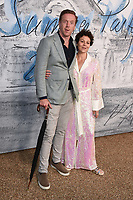 LONDON, UK. June 25, 2019: Damien Lewis & Helen McCrory arriving for the Serpentine Gallery Summer Party 2019 at Kensington Gardens, London.<br /> Picture: Steve Vas/Featureflash