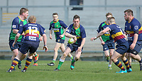 Saturday 13th April 2019 | Ballynahinch 4 vs Banbridge 3<br /> <br /> Crawford Cup final between Ballynahinch and Banbridge at Kingspan Stadium, Ravenhill Park, Belfast, Northern Ireland.  Photo by John Dickson / DICKSONDIGITAL