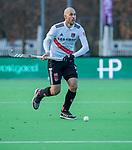 AMSTELVEEN - Justin Reid-Ross (Adam) tijdens de competitie hoofdklasse hockeywedstrijd heren, Pinoke-Amsterdam (1-1)   COPYRIGHT KOEN SUYK