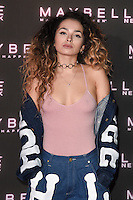 Ella Eyre at the Maybelline Bring on the Night party at The Scotch of St James, London, UK. <br /> 18 February  2017<br /> Picture: Steve Vas/Featureflash/SilverHub 0208 004 5359 sales@silverhubmedia.com