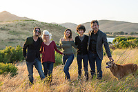Dana's Graduation Family Session in the Benicia hills.