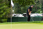 CROMWELL, CT. 20 June 2019-062019 - PGA Tour player Bubba Watson hits his third shot chipping onto the par 3 eighth hole, during the first round of the Travelers Championship at TPC River Highlands in Cromwell on Thursday. Bill Shettle Republican-American
