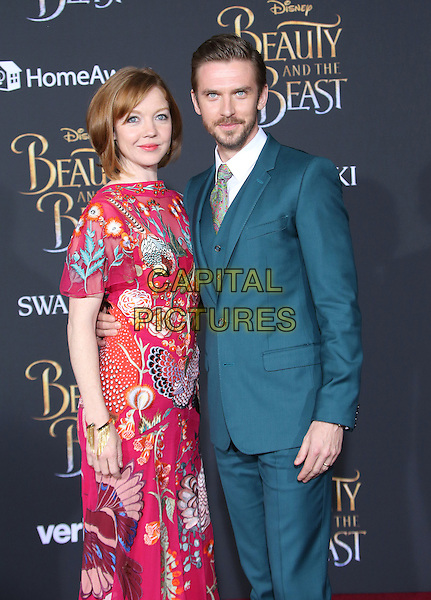 02 March 2017 - Hollywood, California - Susie Hariet, Dan Stevens Disney's &quot;Beauty and the Beast' World Premiere held at El Capitan Theatre.   <br /> CAP/ADM/FS<br /> &copy;FS/ADM/Capital Pictures