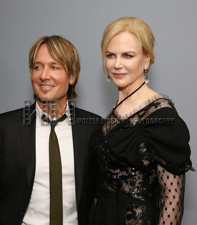 Keith Urban and Nicole Kidman attends 'Genius' New York premiere at Museum of Modern Art on June 5, 2016 in New York City.