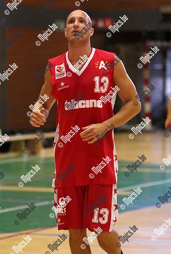 2009-08-28 / Basketbal / seizoen 2009-2010 / Antwerp Giants 2 / Laurens Janssen ..foto: mpics