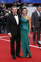 VENICE, ITALY - September 2nd: Matt Damon and Luciana Damon attends the red carpet during 74th Venice Film Festival at Palazzo Del Cinema on September 2nd,, 2017 in Venice, Italy. (Mark Cape/insidefoto)